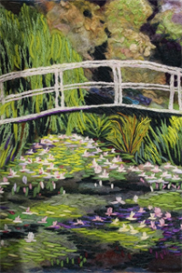 The Bridge at Monets Garden