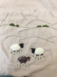 Babies Blanket Sheep