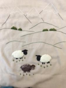 Babies Blanket Sheep