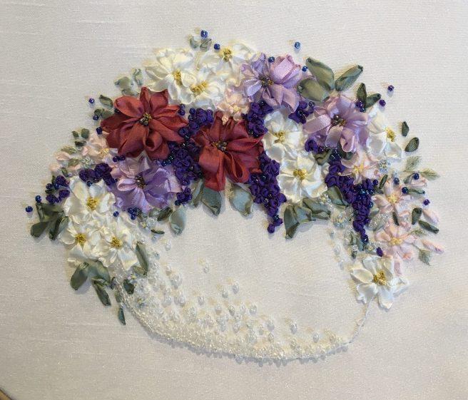 Beaded Vase of Flowers